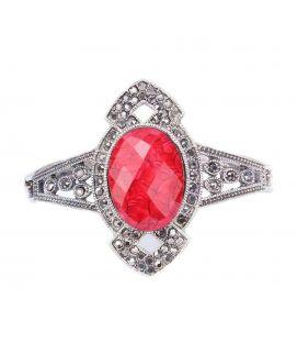 Braclet   Silver & Red   JP   1060