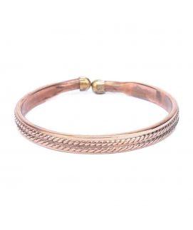 Bronze Alloy Bracelet for Women   JP 1040
