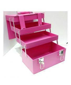 3 Trey Large Pink Beauty Box