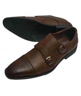 Men's Dark Brown Italian Formal Shoes