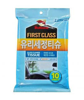 BULLSONE FIRSTCLASS GLASS CLEANER TISSUE