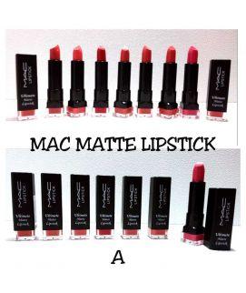 Mac Matte Lipstic kit 6 Pcs