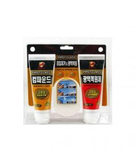 BULLSONE First Class Scratch Remover (Step 1) + Finish Polish (Step 3) + Sponge