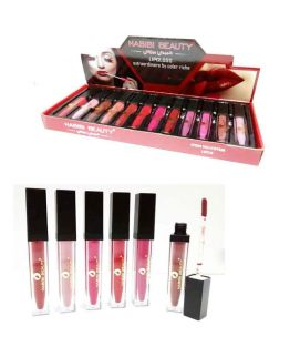 Habib Beauty Lip Gloss 12 Pcs Box