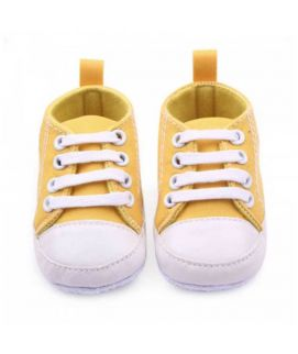 Yellow Soft Sole Shoes First Walkers Toddlers