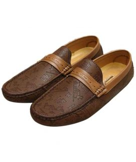 Stylish Men's Brown Loafers