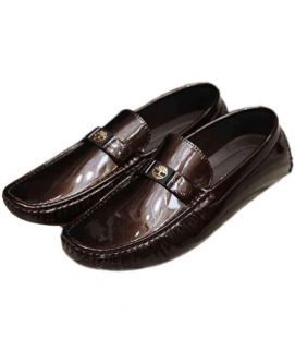 Shining Brown Stylish Men's Loafers