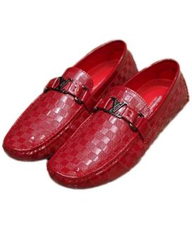 Stylish Men's Loafers Red