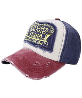 Fashion Motors Racing Team Cotton Baseball Caps