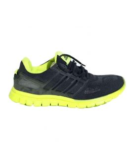 Men's Black And Yellow Sports Shoes