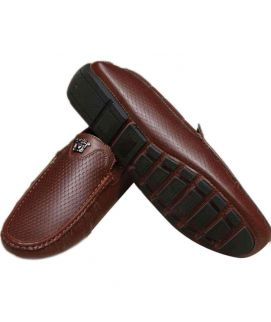 Stylish Dark Brown Loafers For Men