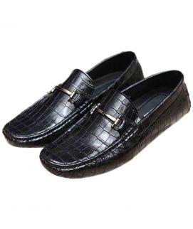 Shining Black Gent's Stylish Shoes