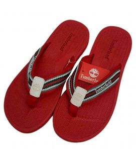 Red Casual Slippers for Men