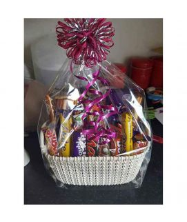Chocolate Basket White