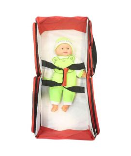 New Born Two In One Baby Care Red Bag