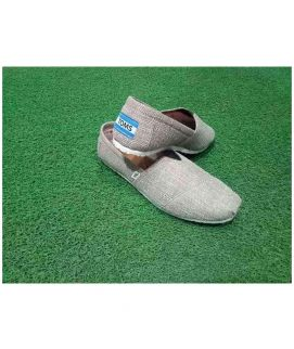 Men's Grey And White Toms