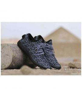 Men's Yeezy V1 Stylish Black White Shoes