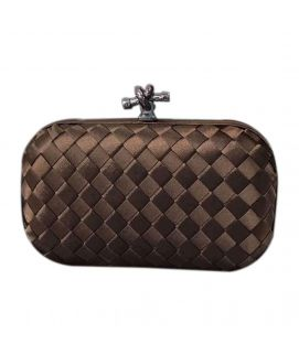 Women's Brown Leather Clutch