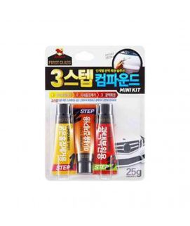 BULLSONE First Class 3-Step Polish Compound Mini Kit