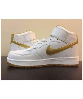 Men's Nike Yellow And White Shoes