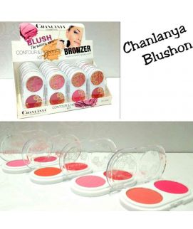Chanlanya Blushon Contour And Highlighter Kit