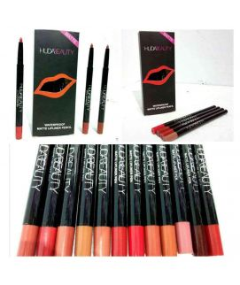 Huda Beauty Waterproof Matte Lipliner Pencil Set
