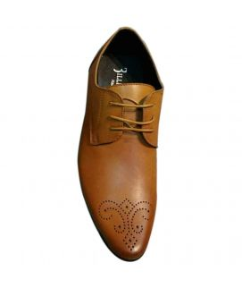 Men's Brown lace Up Leather Shoes