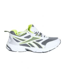 Men's Grey And White Sports Shoes