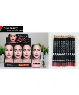 Kiss Beauty Matte Lip Liner Pencil