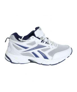 Men's Blue And White Sports Shoes