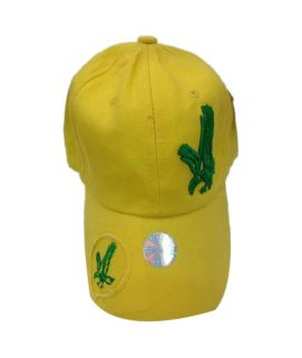 Yellow Eagle Printed New Casual Fitted Hats And Caps For Men