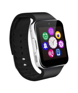 Smart Watch GT08(Black) With GSM Slot Bluetooth for iOS and Android