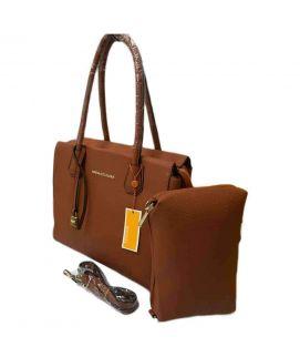 Brown Satchel Handbag For Women