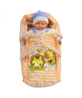 Newborn Baby Orange Hand Carrier