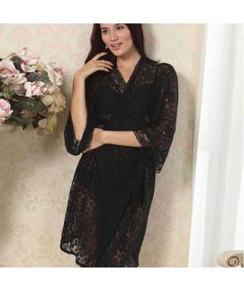 Babydoll Net Lace  Women's Sleepwear