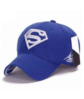 Blue Men Women Outdoor Snap Back Adjustable Fit Baseball Cap