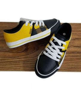 Women's Yellow & Black Shoes