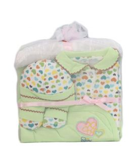 Green Baby Clothes Pack