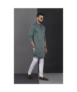 Men's Vestir De Green Kurta