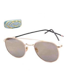 Thom Browne Small Round Sunglasses