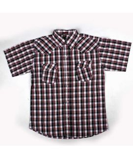 Check Style Brown Shirt For Boys