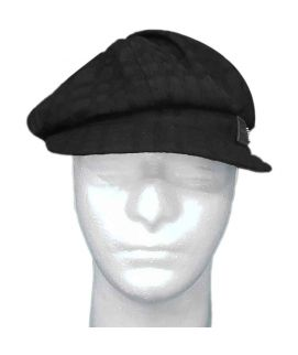 European Style houndstooth Cotton Newboy Cap Eight panel