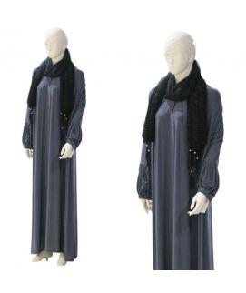 Women's Jercy Grey Abaya