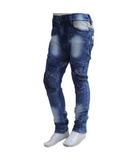 Kids 4 Pocket Blue Jeans