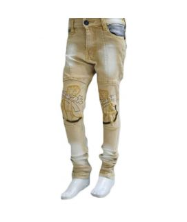 Kids Camel Brown Jeans