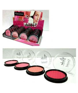 Chanlanya 3D Matte Blushon 24 Pcs Set