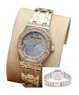 Golden Wrist Watch For Women