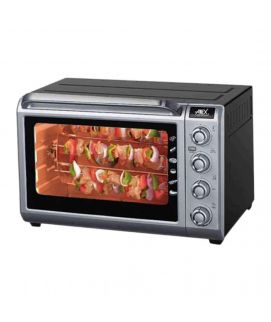 Anex Deluxe Oven Toaster Black & Silver