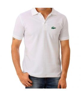 White Mens Polo Shirt