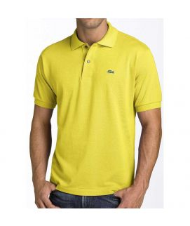 Yellow Mens Polo Shirt